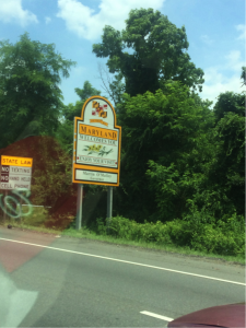 md sign